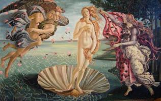 Рождение Венеры. Сандро Боттичели.(52х84, копия, Н.Резник)