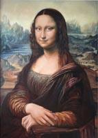 Леонардо да Винчи. МОНА ЛИЗА. (77х53 <em>копия, Н. Резник)