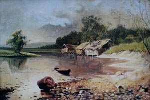Забытая мельница. А. Киселев (копия 30х40 Н.Резник)