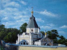 Киево-Печерская Лавра  30х40, Н.Резник